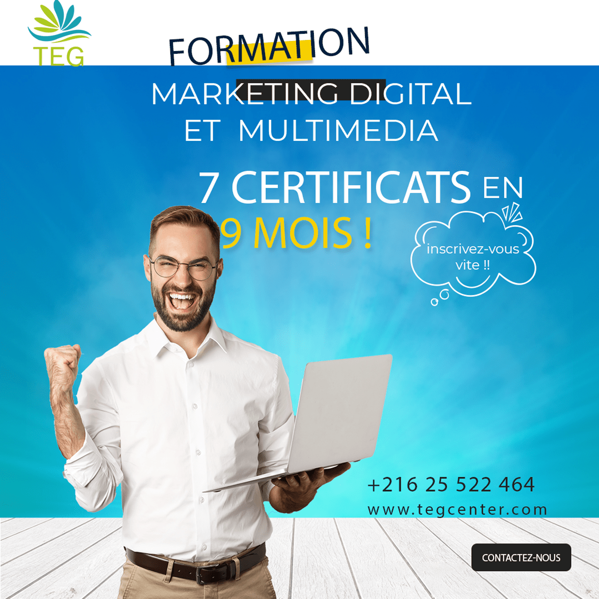 Pack formation marketing digital et multimédia